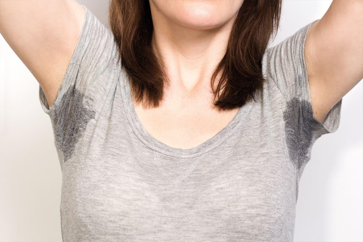 Probleme mit übermäßigen Schwitzen